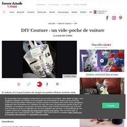DIY Couture : un vide-poche de voiture