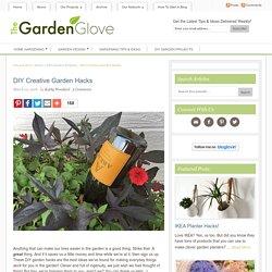DIY Creative Garden Hacks