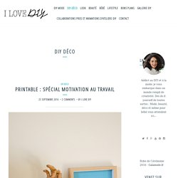 DIY Déco – blog mode, bon plans et DIY