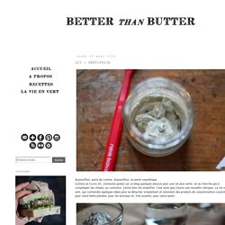 Better than Butter: DIY : DENTIFRICE