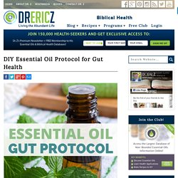 DIY Essential Oil Protocol for Gut Health