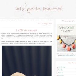 DIY, faire une bague mot - Let's Go To The Mall !
