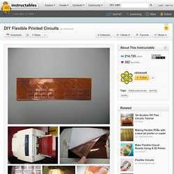 DIY Flexible Printed Circuits