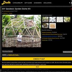 DIY Geodesic Garden Dome Kit