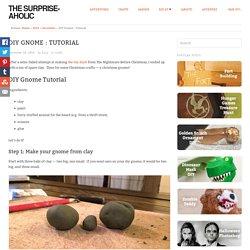 DIY Gnome Tutorial