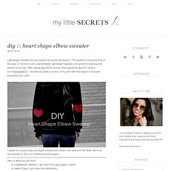 A Canadian DIY and Fashion Blog