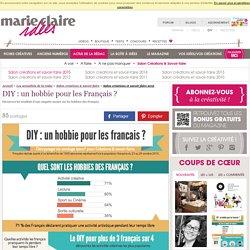 DIY: un hobbie pour les Français?