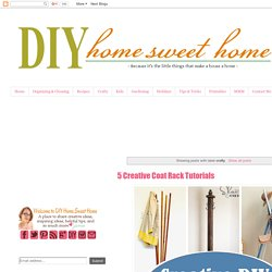 diy home sweet home: crafty