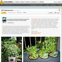 DIY Hydroponics: Free PDF