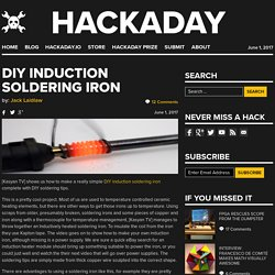 DIY Induction Soldering Iron