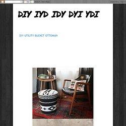 DIY 5 Gal. Utility Bucket Ottoman