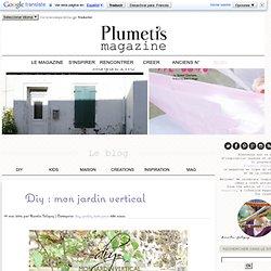 DIY : un jardin vertical avec des palettes