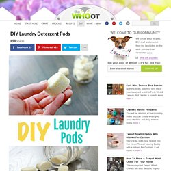 DIY Laundry Detergent Pods