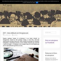 DIY : mes débuts en linogravure