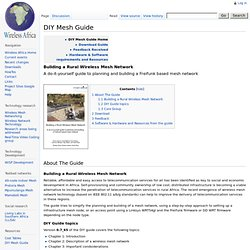 DIY Mesh Guide - WirelessAfrica