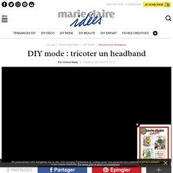 DIY mode: tricoter un headband