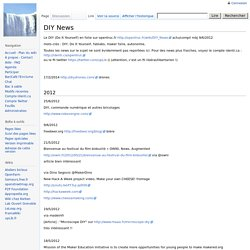 DIY News - WikiOpenTruc