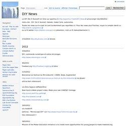 DIY News - WikiOpenTruc