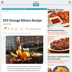 DIY Orange Bitters Recipe
