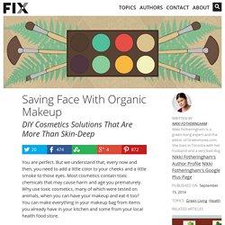 DIY Organic Cosmetics