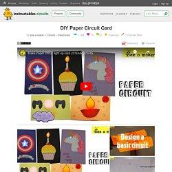 DIY Paper Circuit Card: 6 Steps