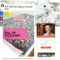 DIY Roll-Up Jigsaw Puzzle Mat