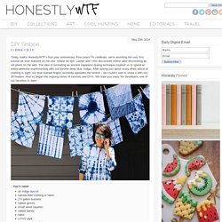 DIY Shibori – HonestlyWTF