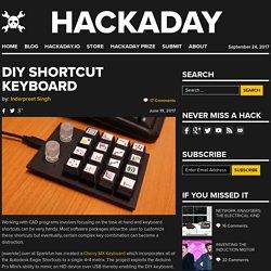 DIY Shortcut Keyboard