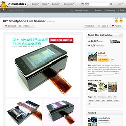 DIY Smartphone Film Scanner