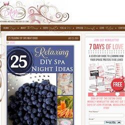 25 DIY Spa Recipes : The Dating Divas