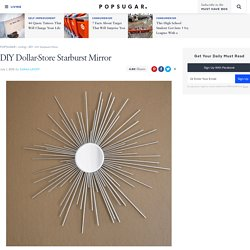 DIY Starburst Mirror