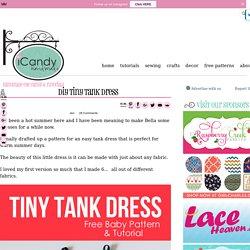 DIY Tiny Tank Dress