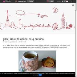 [DIY] Un cute cache-mug en tricot