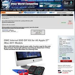 "OWC DIYIM27SSD11 DIY Kit for all Apple 27"" iMac"