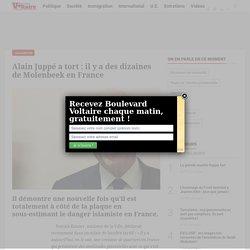 Alain Juppé a tort : il y a des dizaines de Molenbeek en France