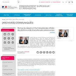 Remise du rapport Dizambourg à Valérie Pécresse