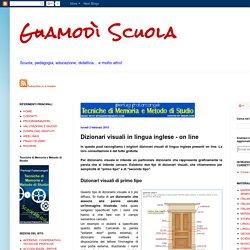 Dizionari visuali in lingua inglese - on line