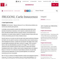 FRUGONI, Carlo Innocenzo in Dizionario Biografico