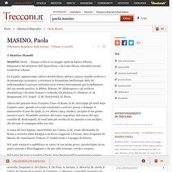 Paola Masino in Dizionario Biografico