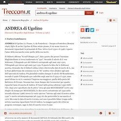 Andrea Di Ugolino in Dizionario Biografico