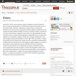 """Cuneo in """"Dizionario delle Scienze Fisiche"""""""