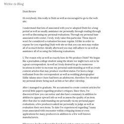 Diziti Review — Write-A-Blog