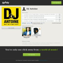 DJ Antoine on Spotify