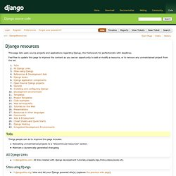DjangoResources
