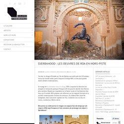 Djerbahood : Les oeuvres de ROA en hors-piste