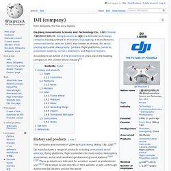 DJI (company) - Wikipedia