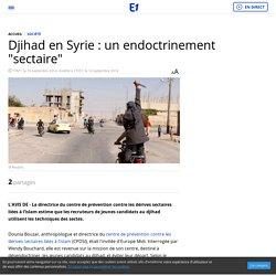 "Djihad en Syrie : un endoctrinement ""sectaire"""
