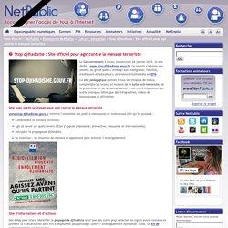 Stop djihadisme : Site officiel pour agir contre la menace terroriste