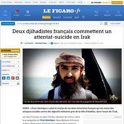 Deux djihadistes français commettent un attentat-suicide en Irak