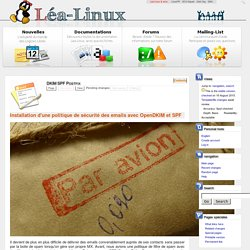 DKIM SPF Postfix